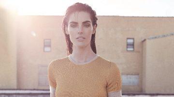 Hilary Rhoda Models Modern Looks in Harper's Bazaar Serbia