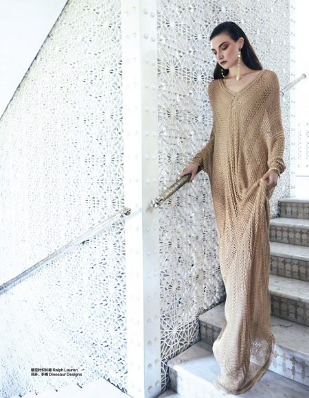 Jacquelyn Jablonski is a Marvel in Marrakech for Harper's Bazaar China