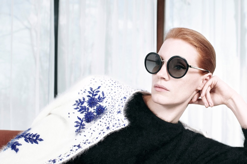 Jessica Chastain stars in Prada's pre-fall 2017 'Parallels' campaign