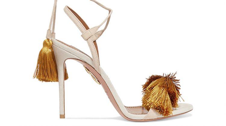 New Arrivals: Johanna Ortiz & Aquazzura's Embellished Shoe Collection