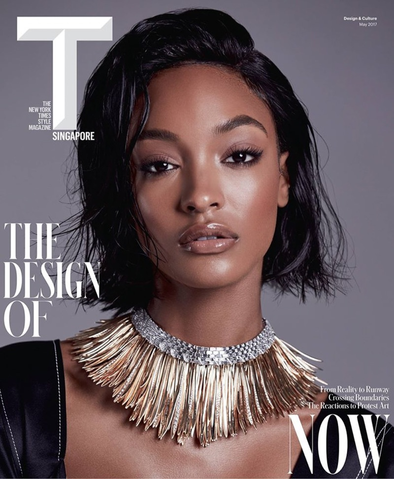 Jourdan Dunn on T Magazine Singapore May 2017 Cover