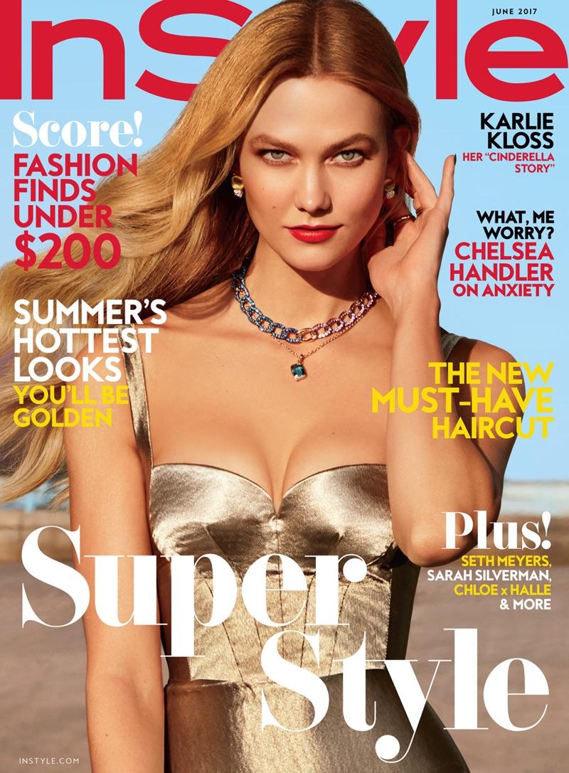 Karlie Kloss on InStyle Magazine June 2017 Cover