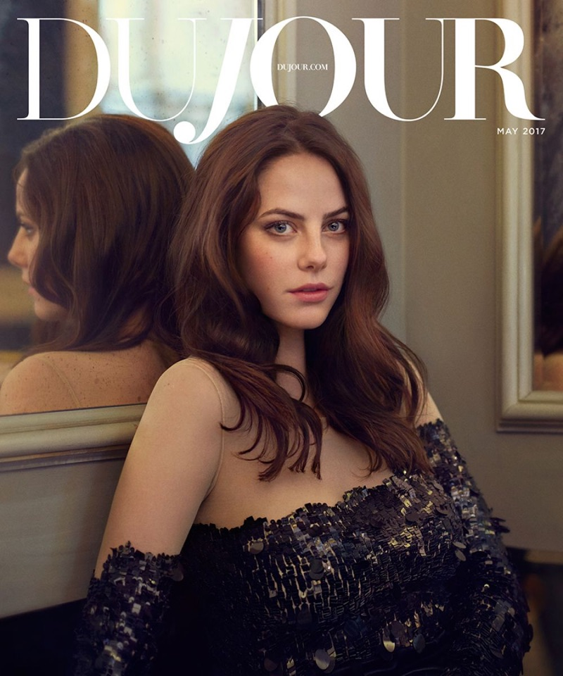 Kaya Scodelario on DuJour Magazine May 2017 Cover