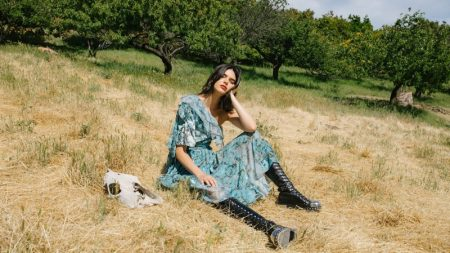 Kendall Jenner is a Nature Girl in Sunday Times Style