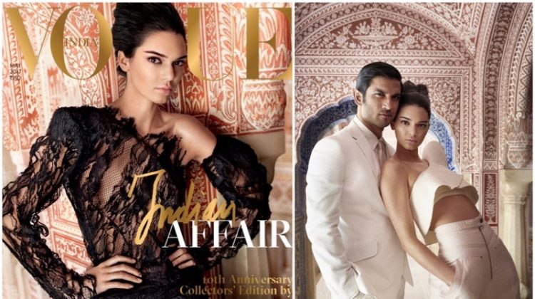 Kendall Jenner Lands Vogue India's 10th Anniversary Cover - See the Photos!