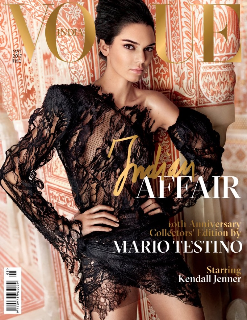 Kendall Jenner on Vogue India May 2017 Cover