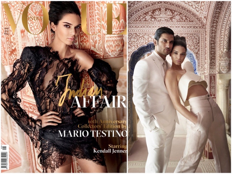 Kendall Jenner Lands Vogue India's 10th Anniversary Cover – See the Photos!