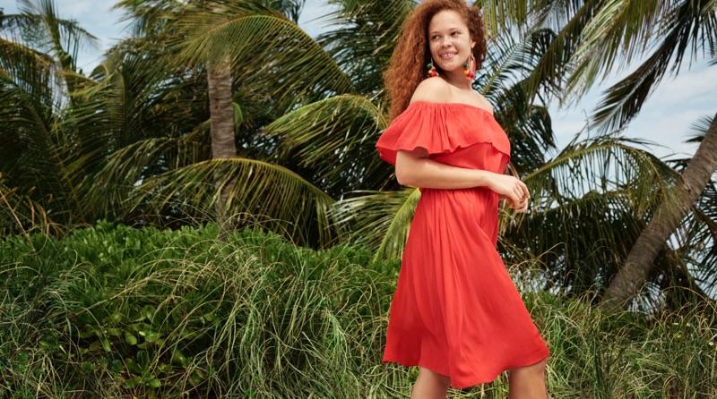 Sabina Karlsson stars in Lindex's summer 2017 campaign