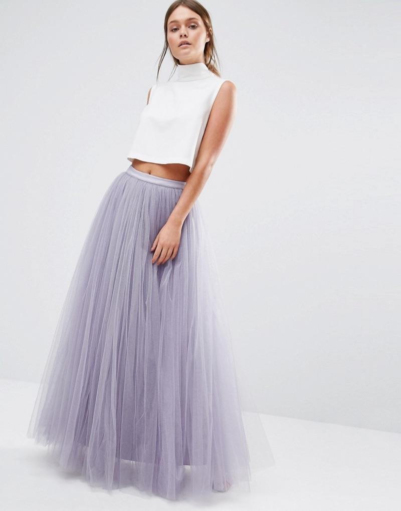 Little Mistress Maxi Tulle Skirt $79.00