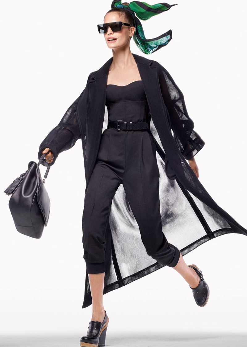 Faretta Gets Moving in Max Mara's Spring 2017 Campaign