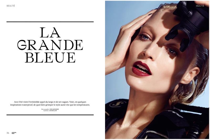 Melissa Tammerijn stars in L'Officiel Suisse editorial