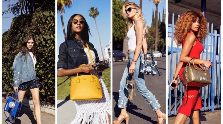 Jourdan Dunn & Kelly Rohrbach Front Michael Kors 'The Walk' Summer Campaign