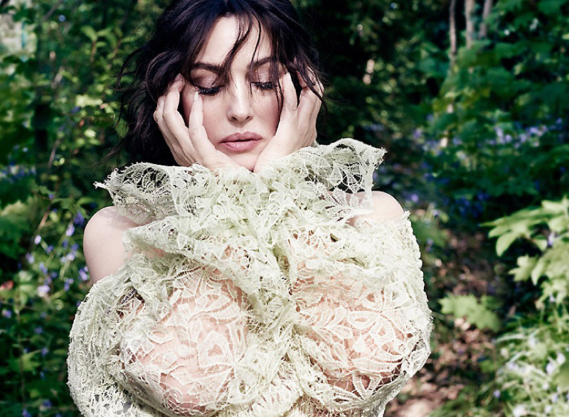 Monica Bellucci is a Vision in Vanity Fair Italy
