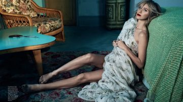 Naomi Watts Dazzles in Haute Couture for Vogue Australia