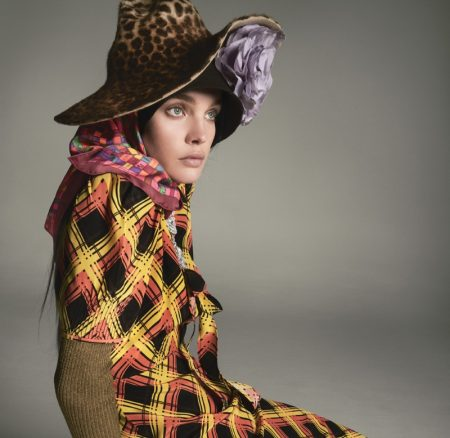 Natalia Vodianova Wears the Fall Collections in W Magazine