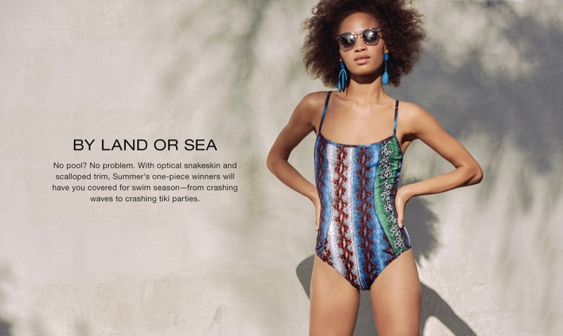 Rachel Comey Brier Swimsuit and Ahlem Gare de Lyon Sunglasses