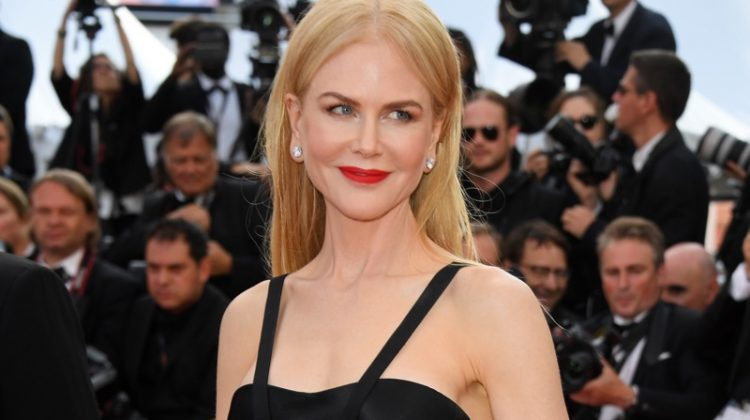 "Nicole Kidman wears a Calvin Klein by Appointment dress with tulle skirt at Cannes ""The Killing Of A Sacred Deer"" screening. Photo: Venturelli/WireImage"