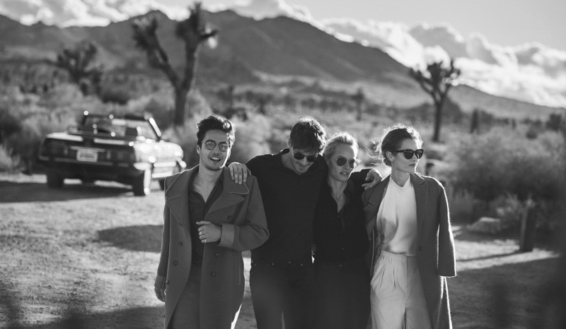 d515fe7dc1c Peter Lindbergh photographs Oliver Peoples  30th anniversary campaign