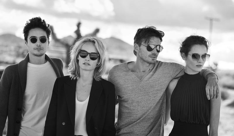 d566d7eaf7a Amber Valletta   Jac Jagaciak Star in Oliver Peoples  30th Anniversary  Campaign