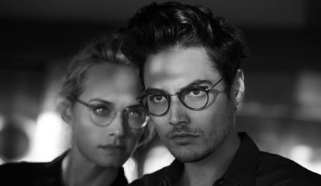 Amber Valletta & Jac Jagaciak Star in Oliver Peoples' 30th Anniversary Campaign