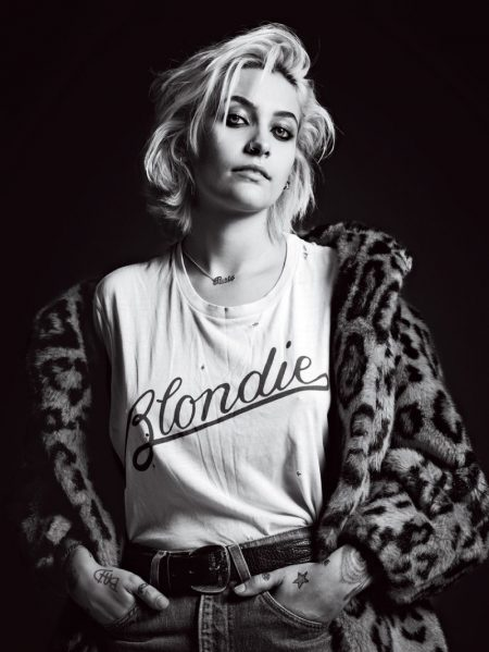 Paris Jackson Poses for Hedi Slimane in Teen Vogue