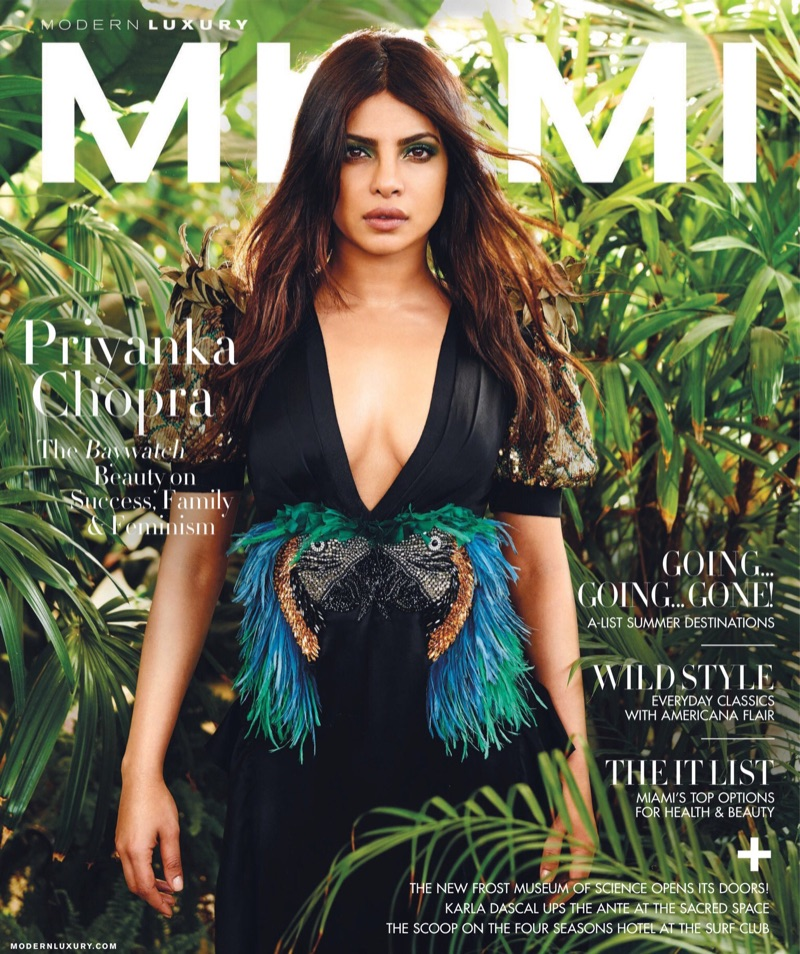 Priyanka Chopra on Modern Luxury May 2017 Cover
