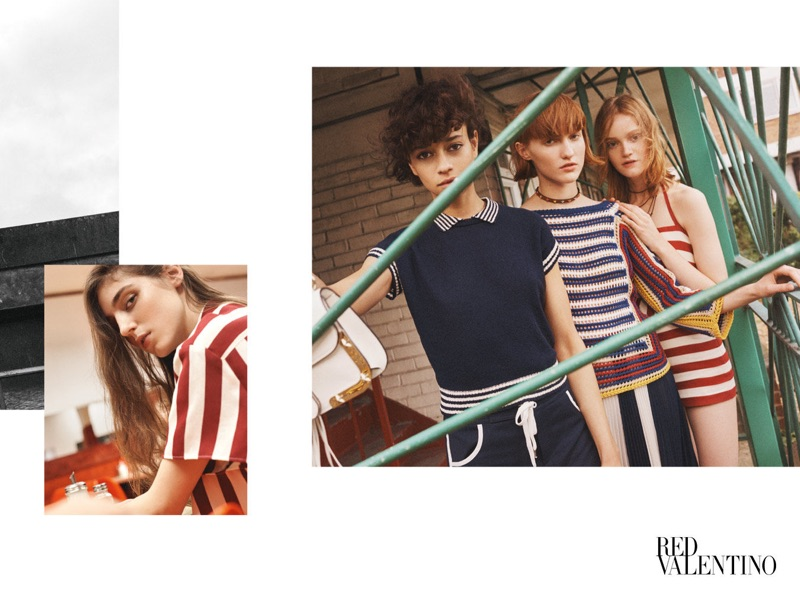 RED Valentino captures its spring-summer 2017 campaign in London