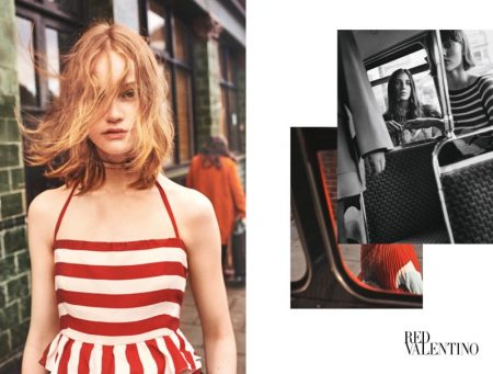 RED Valentino Captures Everyday Moments for Spring 2017 Campaign