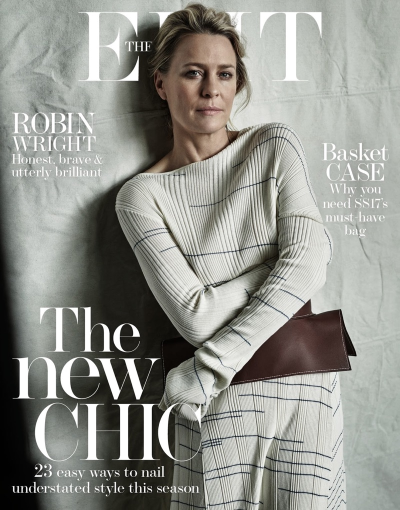 Robin Wright on The Edit May 19th, 2017 Cover