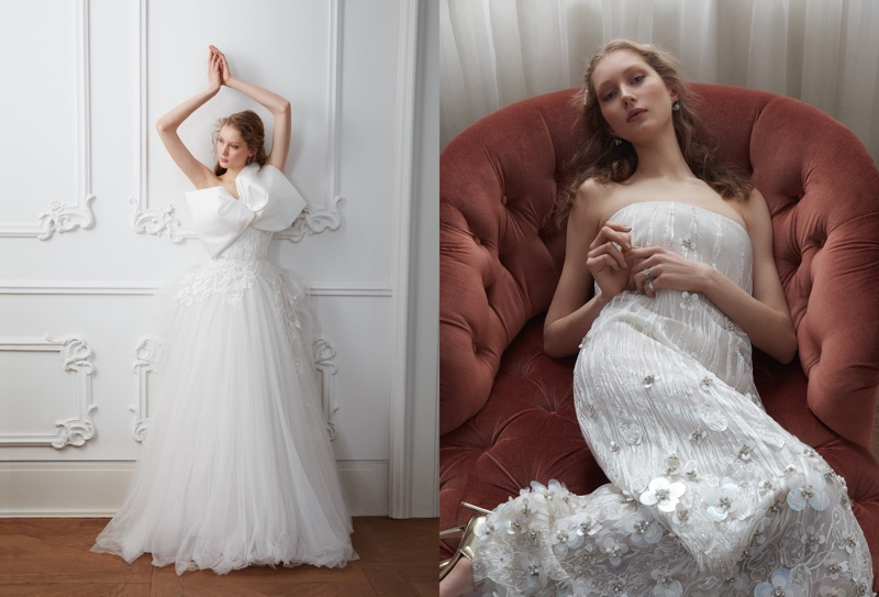 Sandra martens poses in dreamy wedding dresses for vogue turkey photographed by cihan alpgiray sandra martens wears elegant wedding dresses junglespirit Choice Image