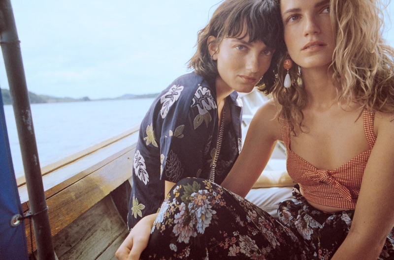 An image from Mango Journeys: Chapter V campaign starring Say Lou Lou
