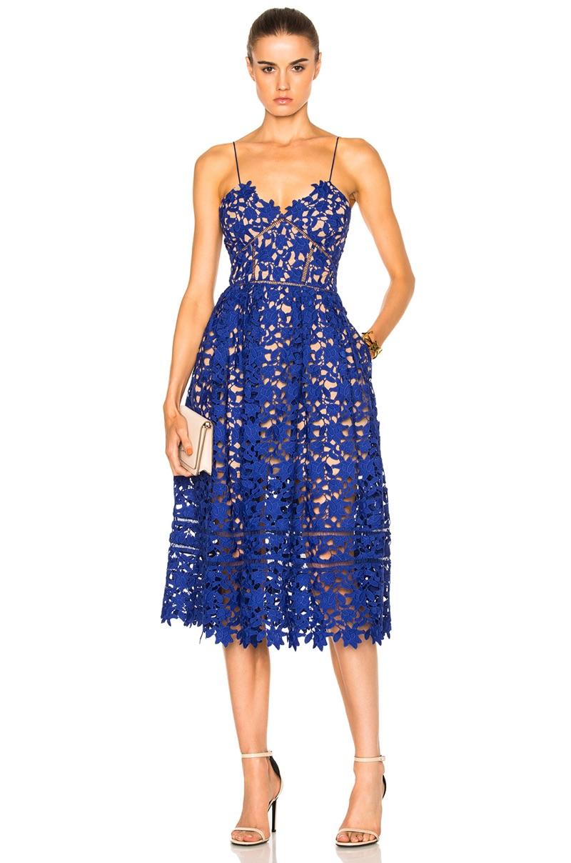Self Portrait Azaelea Lace Dress Shop Fashion Gone Rogue