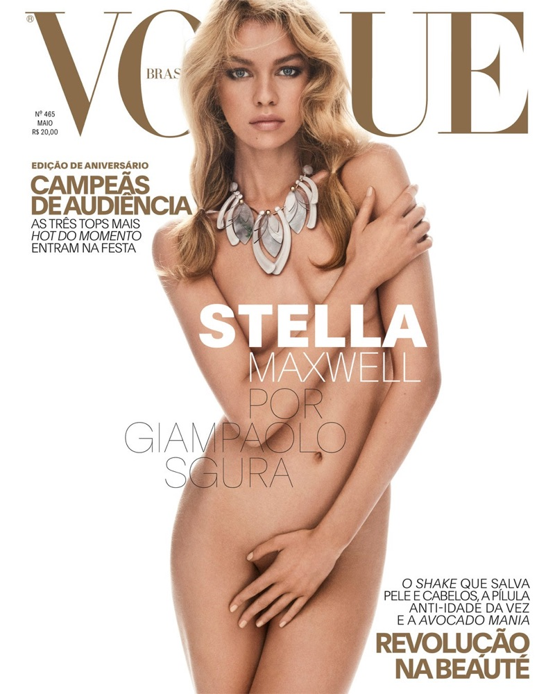 Stella Maxwell on Vogue Brazil May 2017 Cover