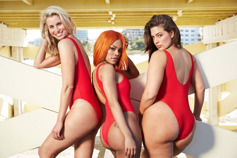 Swimsuits For All features the Lifeguard Swimsuit in Baywatch inspired campaign