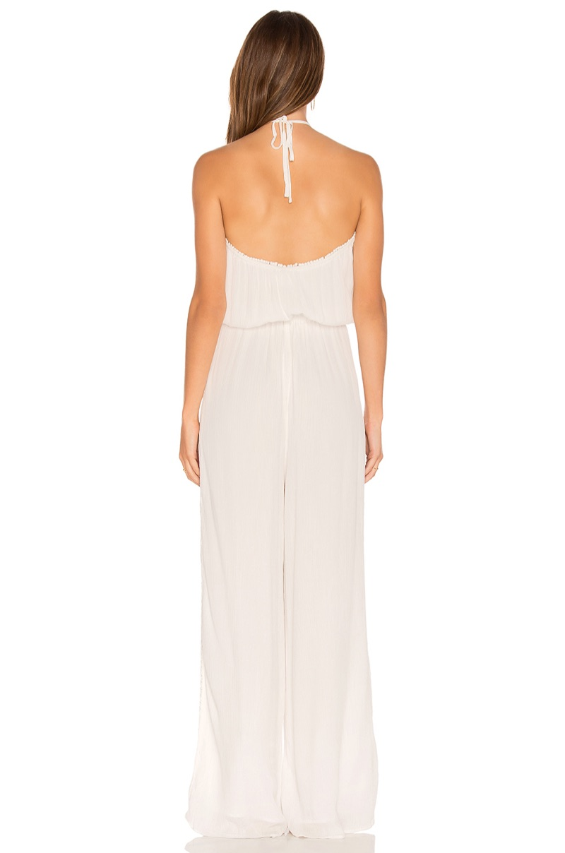 The Jetset Diaries creates a chic wide-leg jumpsuit