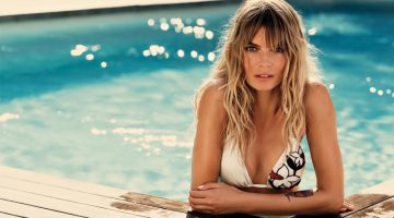 Cristina Tosio Sizzles in TwinSet's Latest Swimwear Campaign