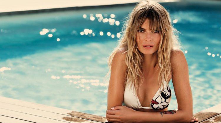 Cristina Tosio Sizzles in TwinSet's Latest Swimwear Campaign