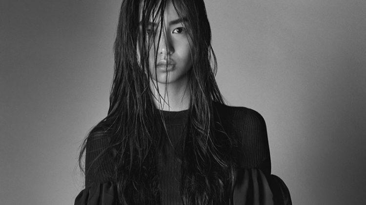 Estelle Chen stars in Vera Wang's spring 2017 campaign