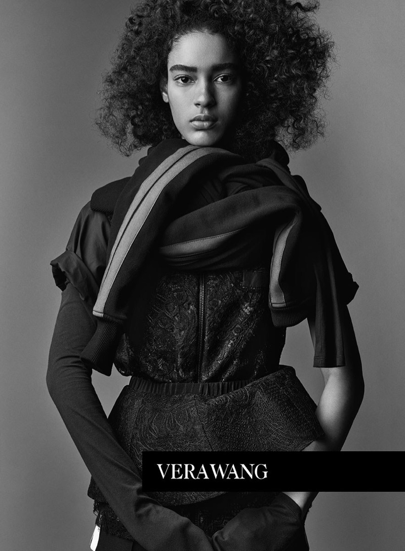 Luisana Gonzalez stars in Vera Wang's spring 2017 campaign