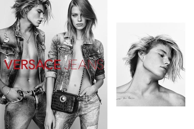 Versace Jeans unveils spring 2017 campaign