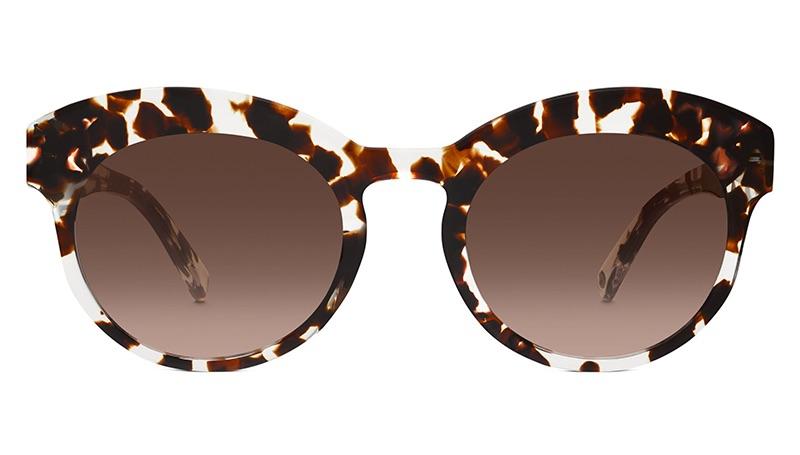 Warby Parker Clementine Sunglasses in Espresso Tortoise $95