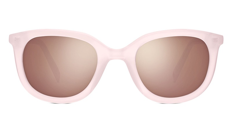 Warby Parker Laurel 17 Sunglasses in Rose Quartz $95