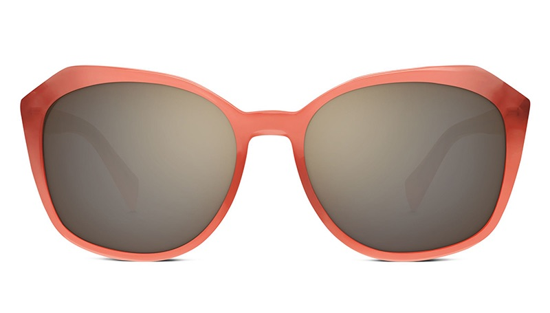 Warby Parker Nancy Sunglasses in Coral $95