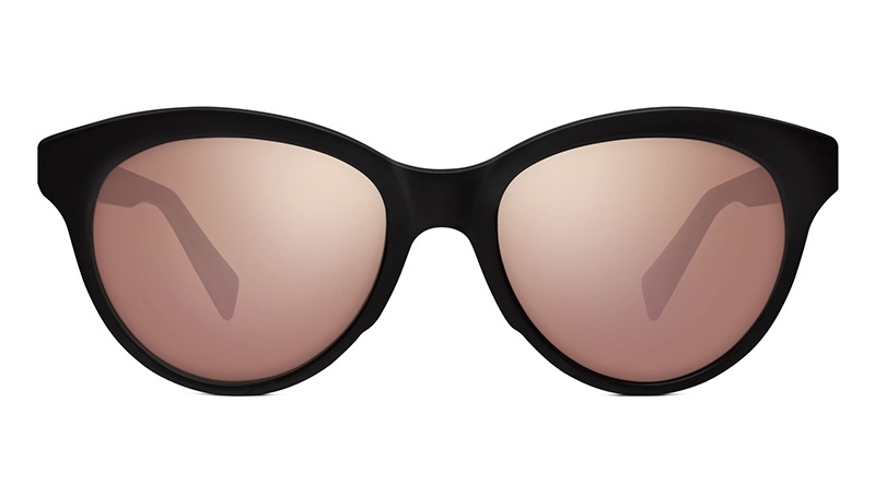 Warby Parker Piper Sunglasses in Jet Black $95