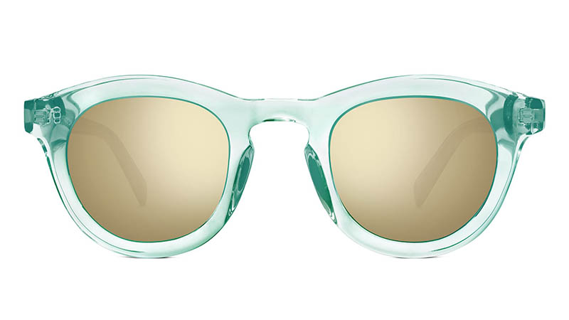 Warby Parker x Robert Rauschenberg Roci Sunglasses in Crystal Marina $95