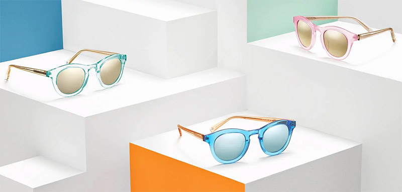 Just Landed: Warby Parker & Robert Rauschenberg's Bold Sunglasses Collab