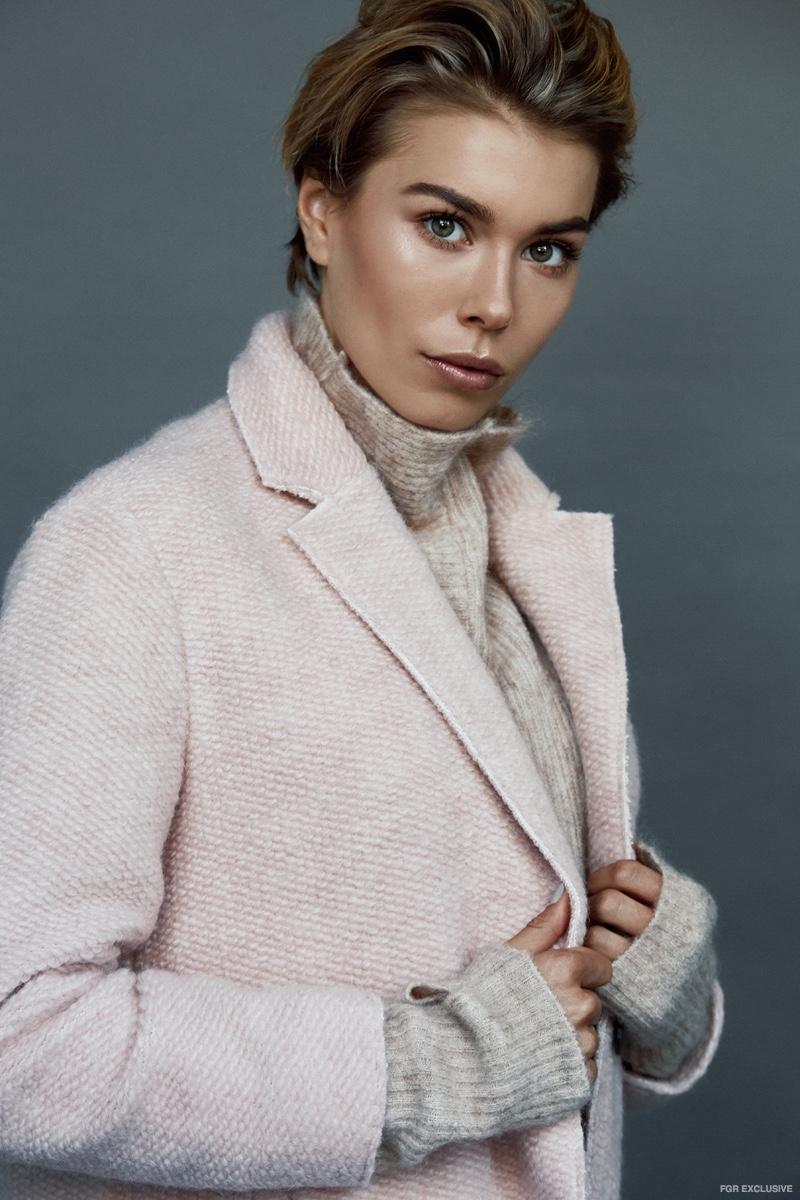 Knit Sweater H&M and Coat Zara