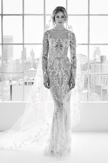Zuhair Murad Wedding Gown 32 Elegant Dory embroidered gown from