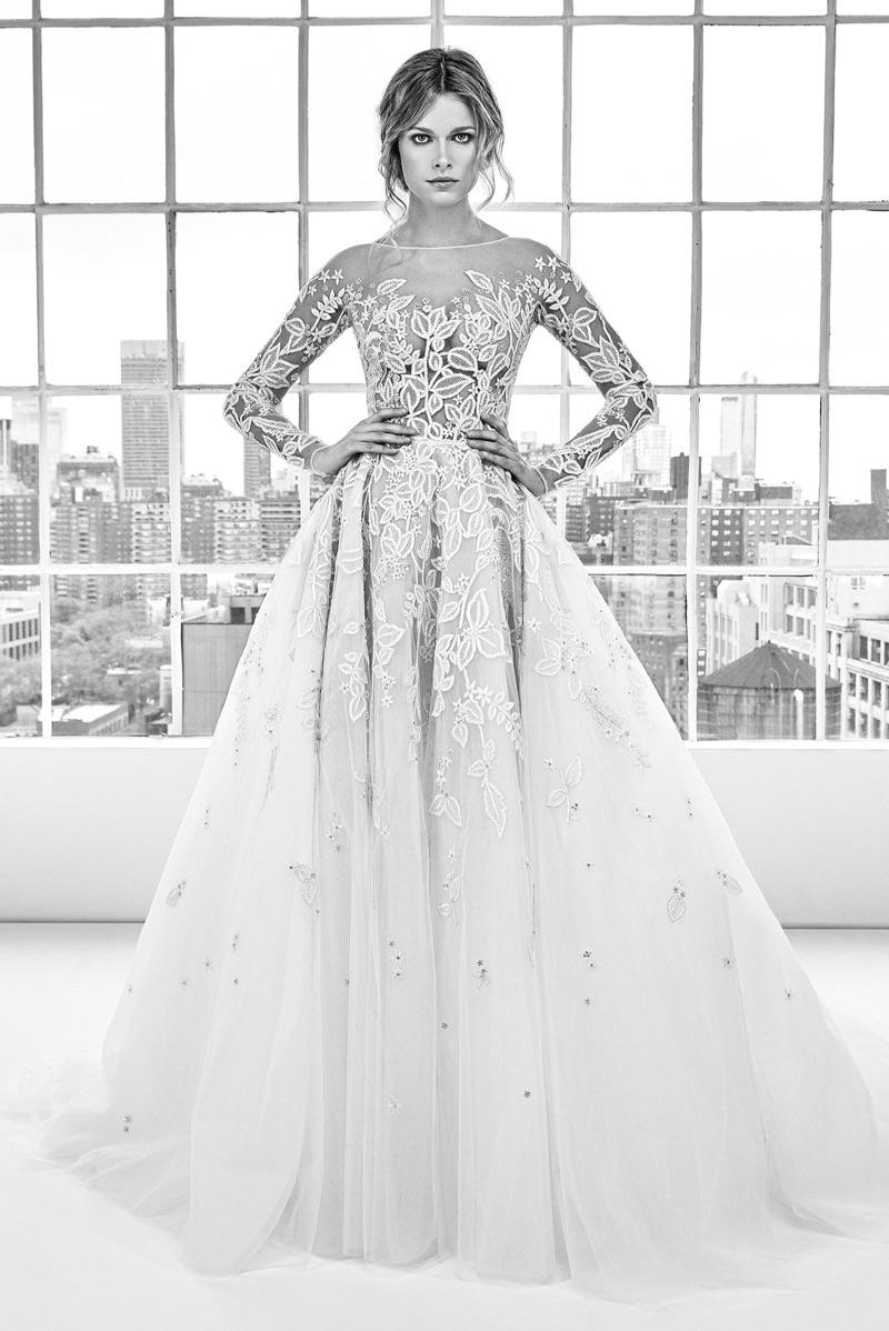 zuhair murad bridal 2018 spring summer wedding dresses. Black Bedroom Furniture Sets. Home Design Ideas