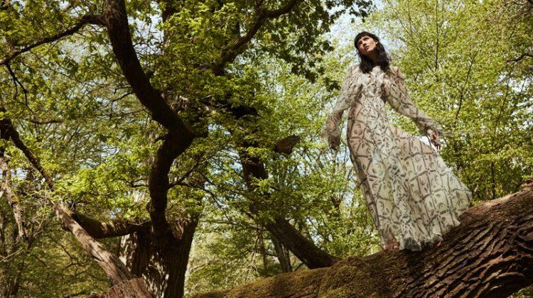 Anya Lyagoshina stars in ELLE France's June issue